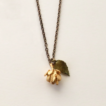 Hops Necklace - Goldmakers Fine Jewelry