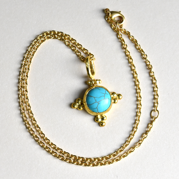 Howlite Necklace - Goldmakers Fine Jewelry