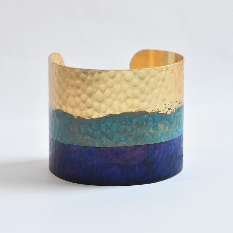 Issoria Cuff - Goldmakers Fine Jewelry