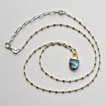 Labradorite Necklace - Goldmakers Fine Jewelry