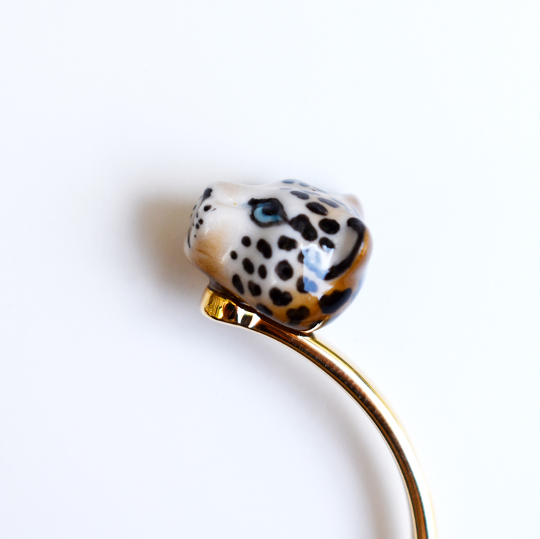Leopard Cuff - Goldmakers Fine Jewelry