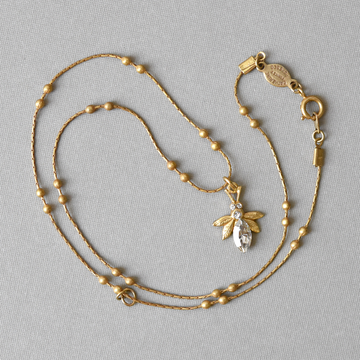 Little Bee Necklace - Goldmakers Fine Jewelry