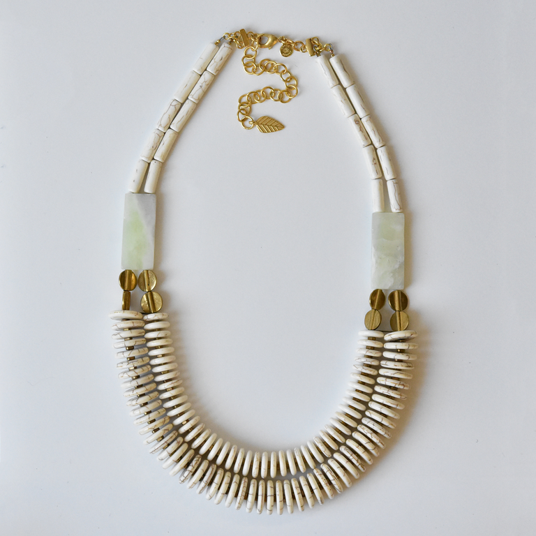 Magnesite Agate Necklace - Goldmakers Fine Jewelry