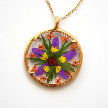 Mandala Necklace - Goldmakers Fine Jewelry