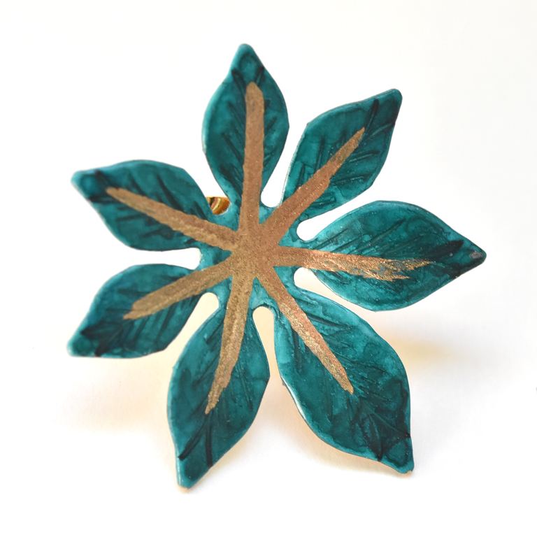 Little Teal Laila Earrings - Goldmakers Fine Jewelry