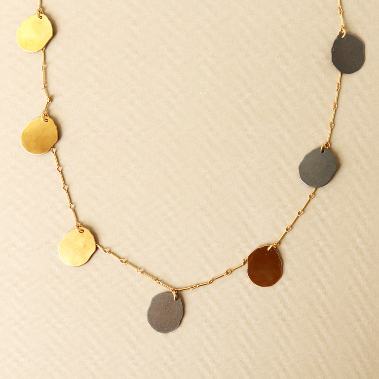 Minka Circle Necklace