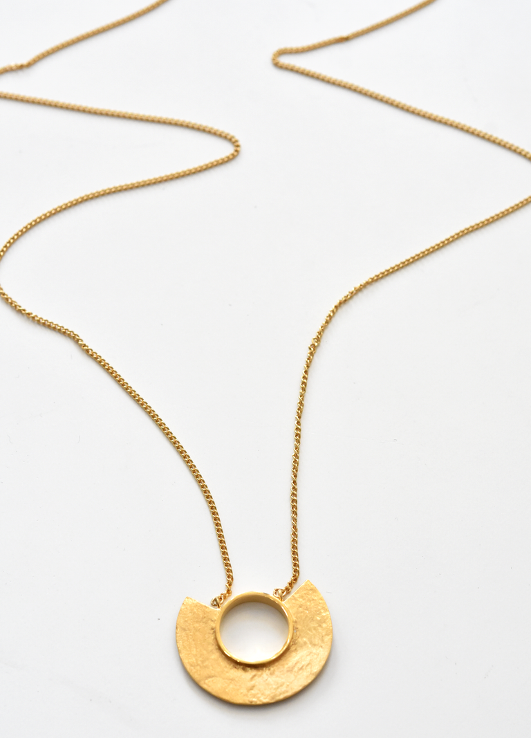 Minocia Necklace in Gold Overlay - Goldmakers Fine Jewelry
