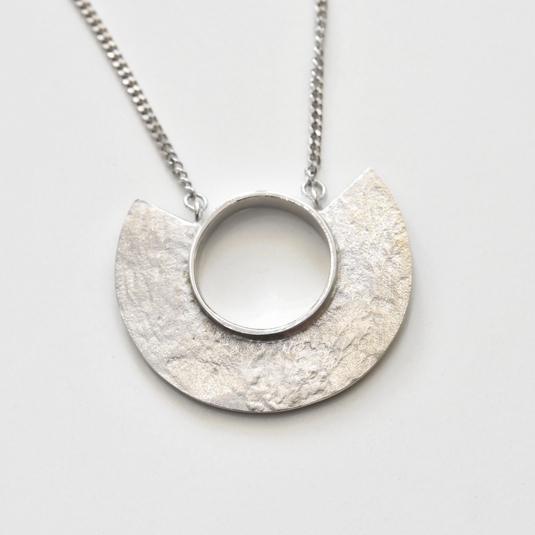 Minocia Necklace in Sterling Silver - Goldmakers Fine Jewelry