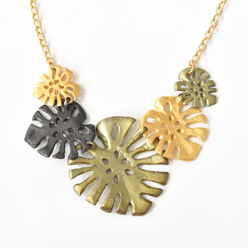 Monstera Collar - Goldmakers Fine Jewelry