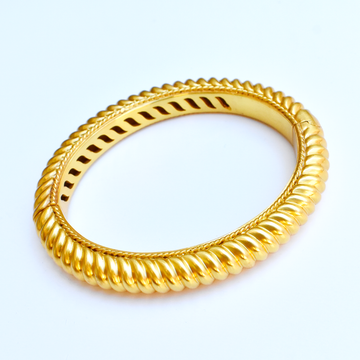Olympia Bangle Bracelet - Goldmakers Fine Jewelry
