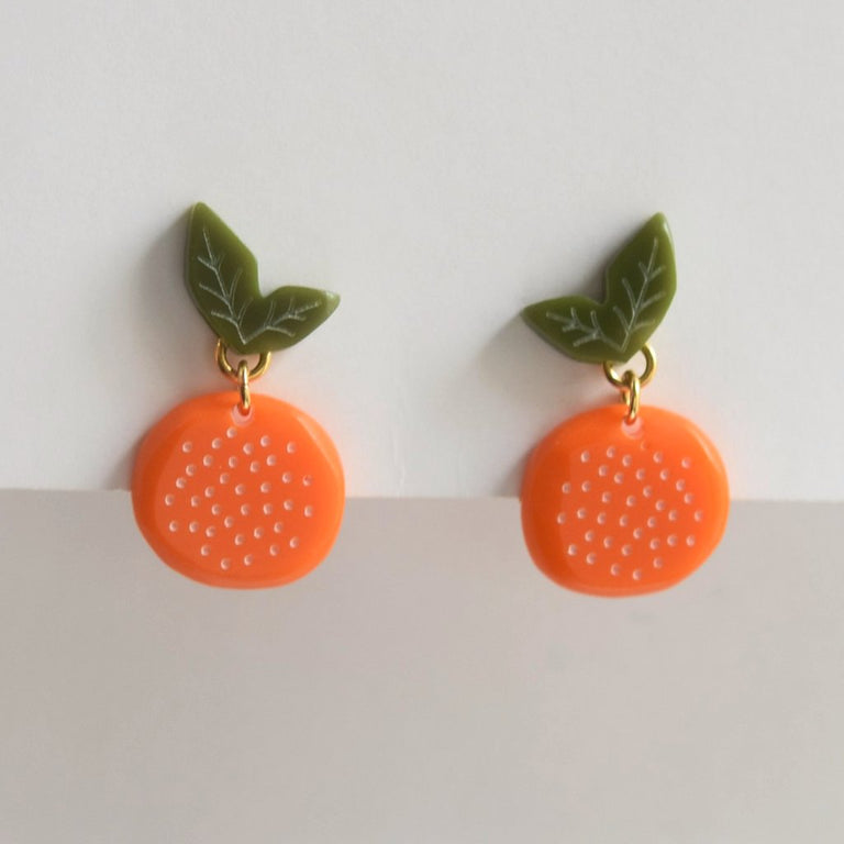 Orange Posts - Goldmakers Fine Jewelry