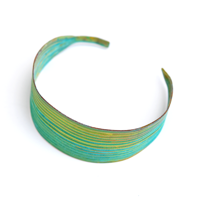 Palm Blade Cuff - Goldmakers Fine Jewelry