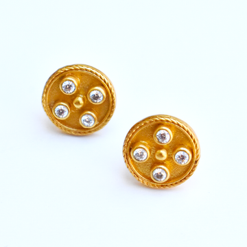 Paris Stud Earrings - Goldmakers Fine Jewelry