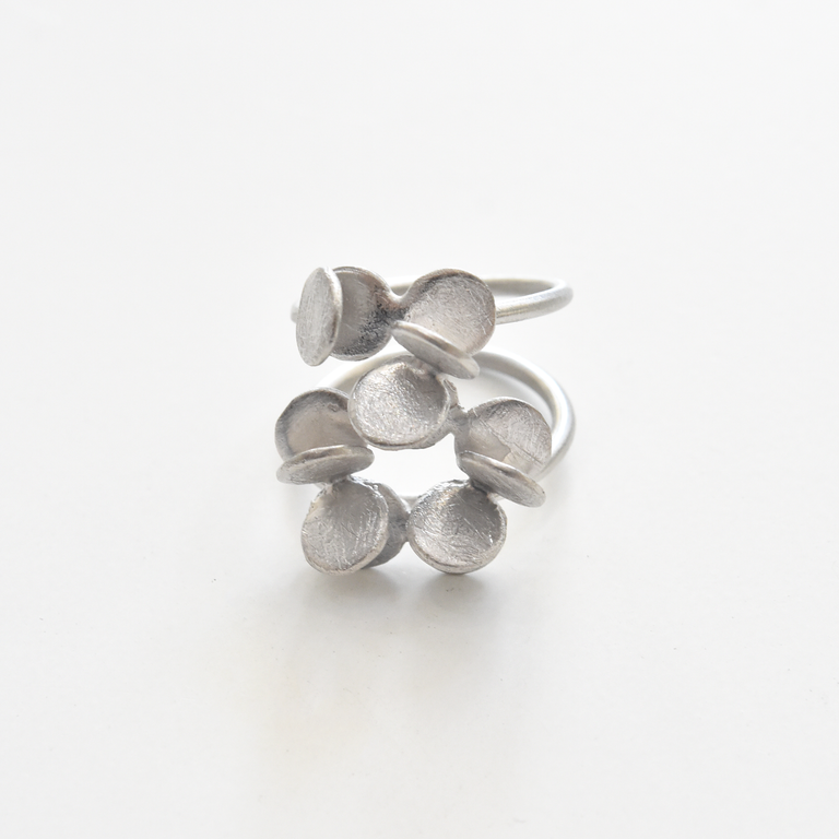 Petals Ring in Sterling Silver - Goldmakers Fine Jewelry
