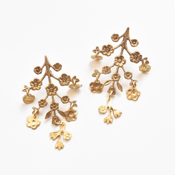 Petite Jardiniere Earrings - Goldmakers Fine Jewelry