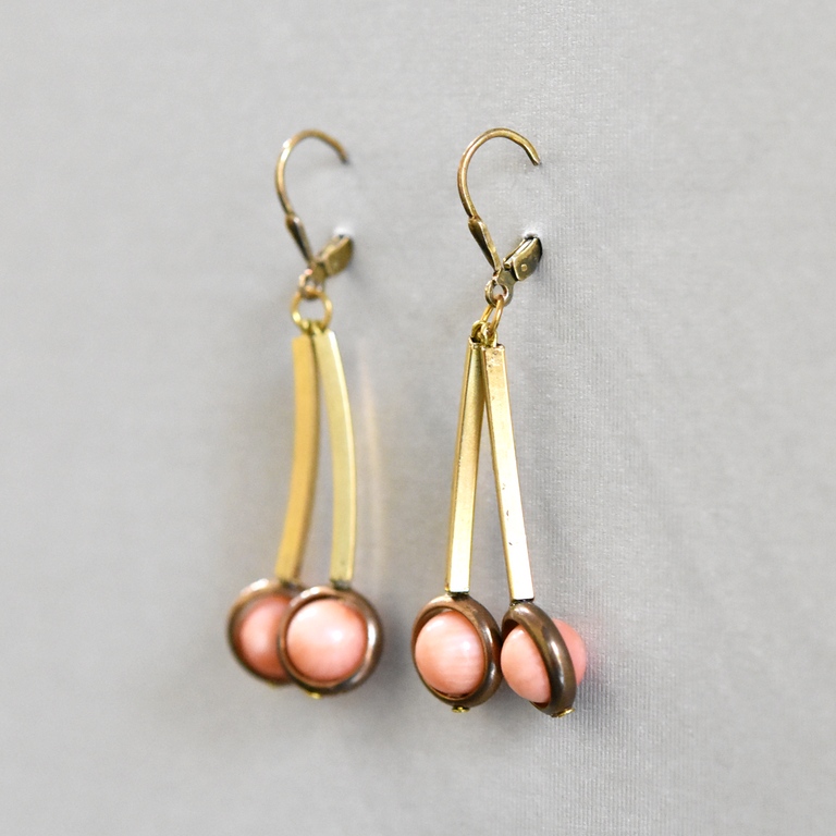 Pink Cherry Drops - Goldmakers Fine Jewelry