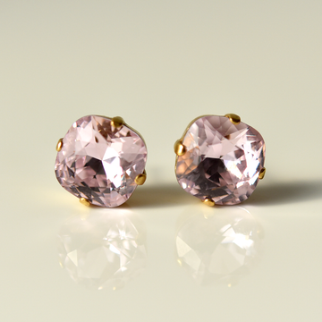 Lemonade Pink Studs - Goldmakers Fine Jewelry