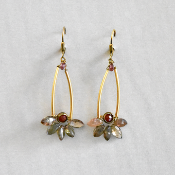 Quartz Drop Earrings - Goldmakers Fine Jewelry