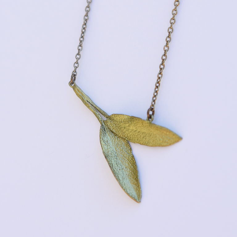 Sage Necklace - Goldmakers Fine Jewelry