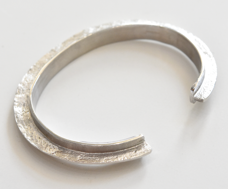 Sterling Silver Cuff - Goldmakers Fine Jewelry