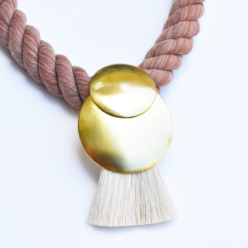 Sunrise Collar in Redwood - Goldmakers Fine Jewelry