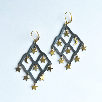 Taru Drop Earrings - Goldmakers Fine Jewelry