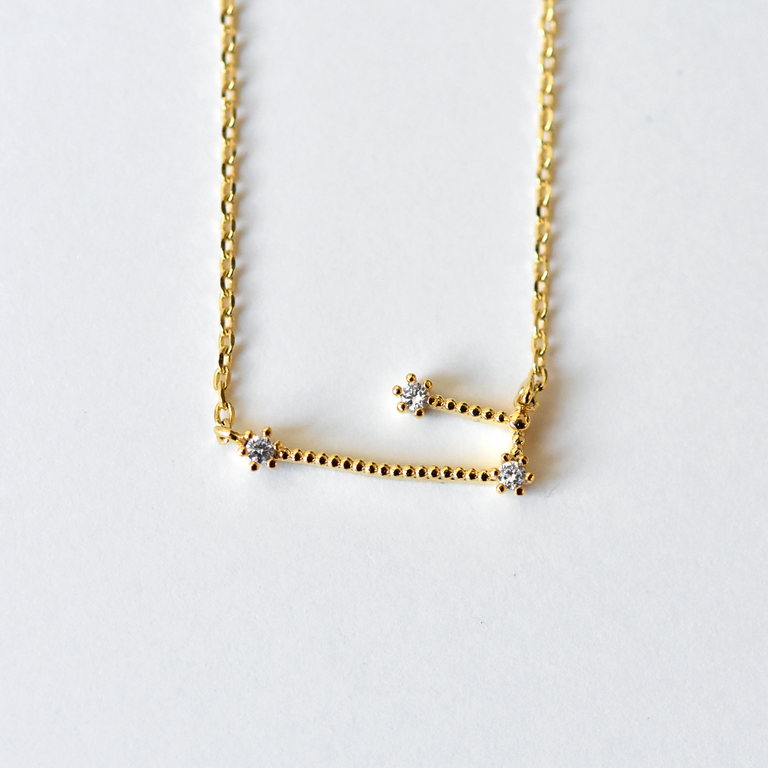 Taurus Constellation Necklace - Goldmakers Fine Jewelry