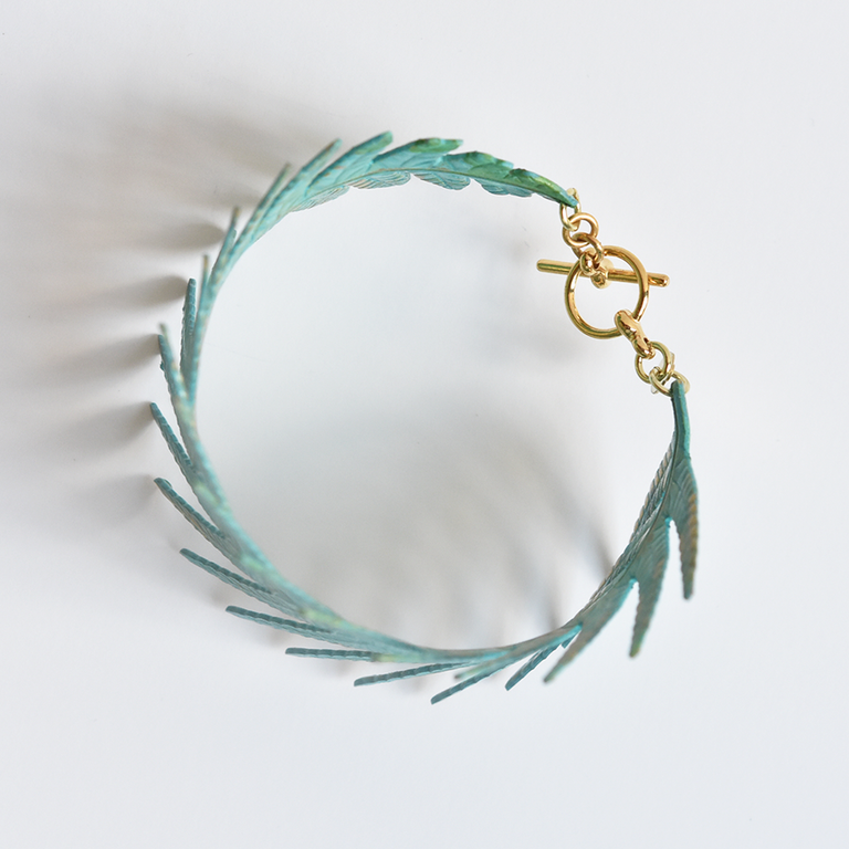 Terra Fern Cuff - Goldmakers Fine Jewelry