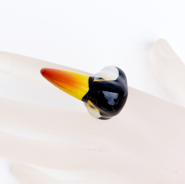 Toucan Ring - Goldmakers Fine Jewelry