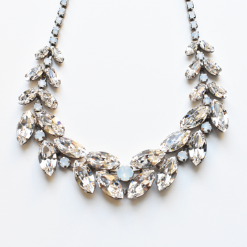 Snow Queen Collar Necklace - Goldmakers Fine Jewelry
