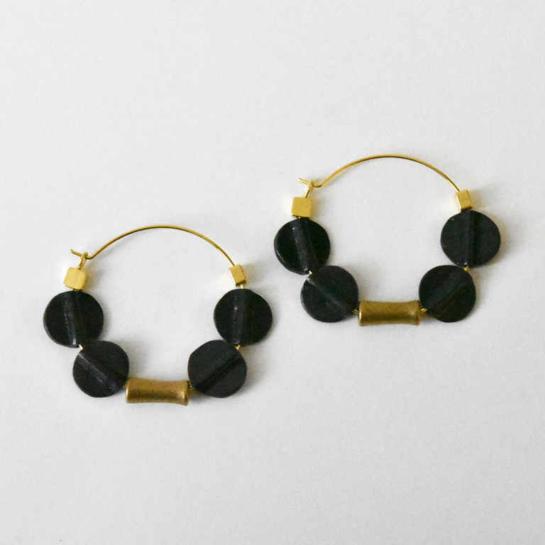 Spinning Disk Wire Earrings - Goldmakers Fine Jewelry