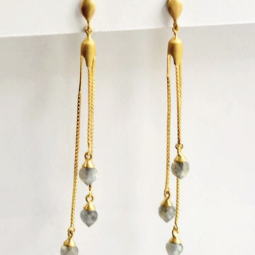 Morocco Marrakesh Earrings - Goldmakers Fine Jewelry