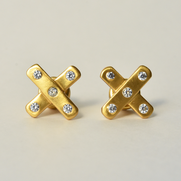 Paris X Studs - Goldmakers Fine Jewelry