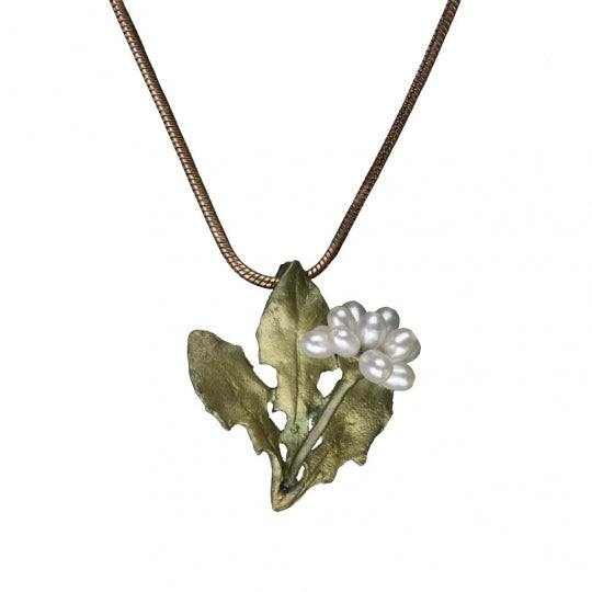 Dandelion Pendant Necklace - Goldmakers Fine Jewelry