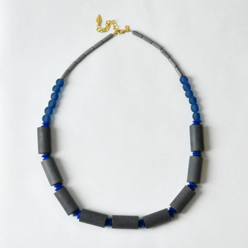 Wood Bead Necklace - Goldmakers Fine Jewelry