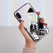 Load image into Gallery viewer, iphoneX mirror phone case iphone7/8plus make-up self-timer glass case