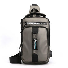 Load image into Gallery viewer, Multifunction CrossbodyBags Men USBCharging ChestPack