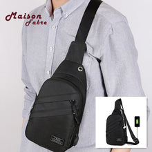 Load image into Gallery viewer, Anti-theft Chest Pack Water Repellent Shoulder Bag