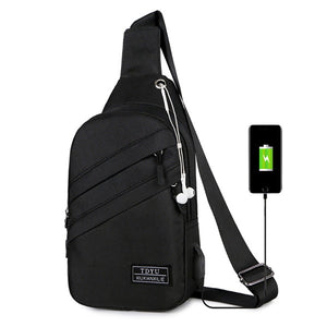 Anti-theft Chest Pack Water Repellent Shoulder Bag