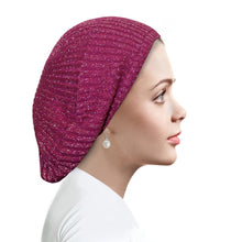 AH-H0006 Circular Ribbed Beret Canyon Rose