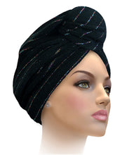 MTERHL Miami Terry Highlighted Turban Champagne Rose
