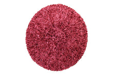 KCB2322 Chenille Dusty Rose With Silver Lurex