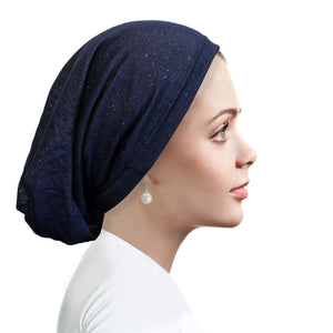 Denim Beanie Midnight blue BN9801