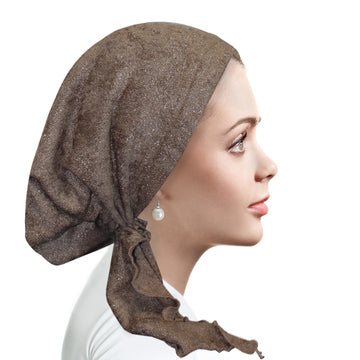 Chenille Pretied 2158 Smoky Taupe