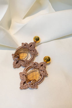 CHLOE - ROSE GOLD - EARRINGS