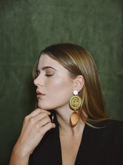 WILLOW PEACH - EARRINGS