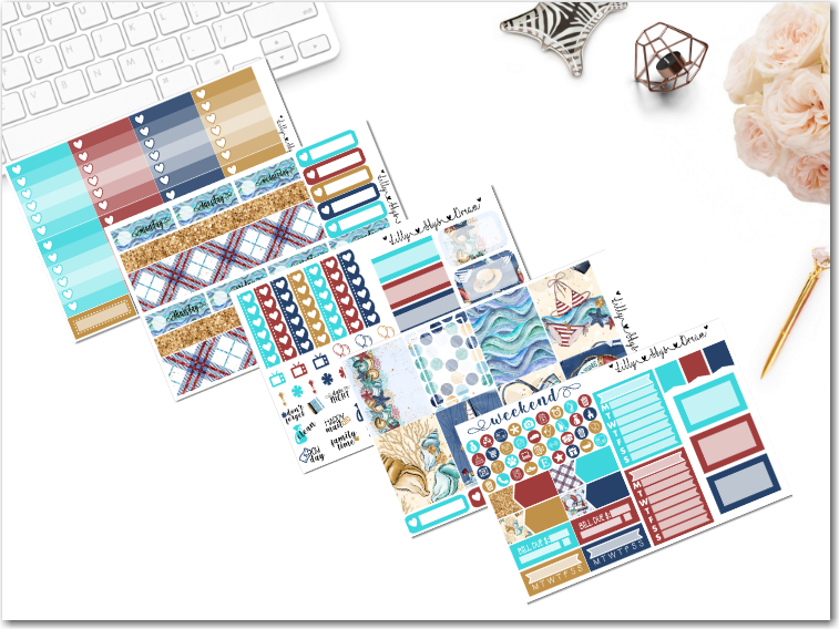 Nautical Summer 5 Page Kit