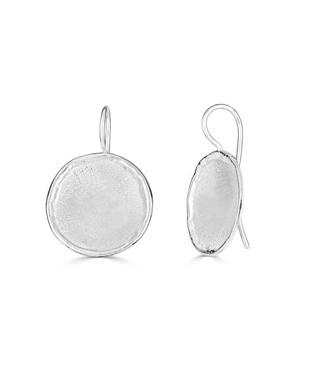 Silver Earrings AMMOS Style 13