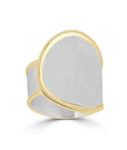 Silver Ring MIDAS Style 15