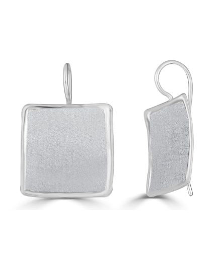 Silver Earrings AMMOS Style 22